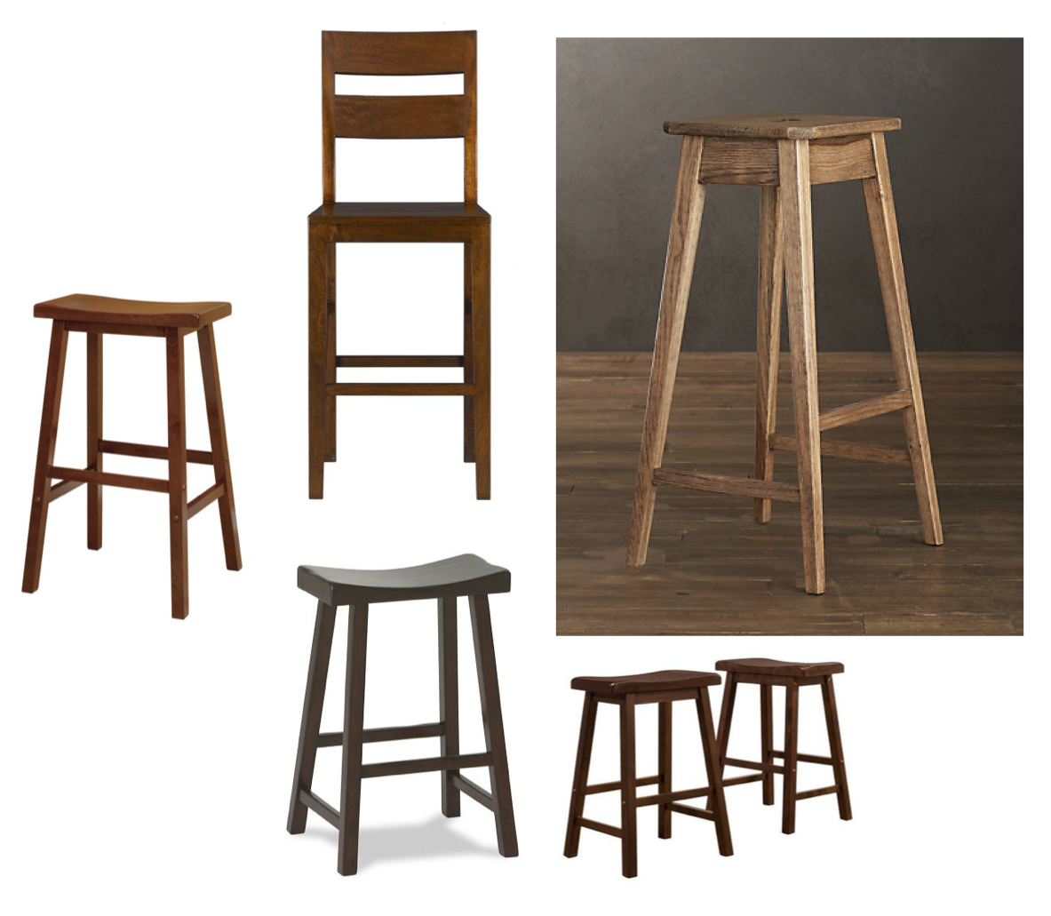 Wooden Build Your Own Bar Stool Kit Pdf Plans